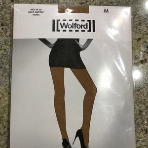 Wolford Gobi Tights M $61